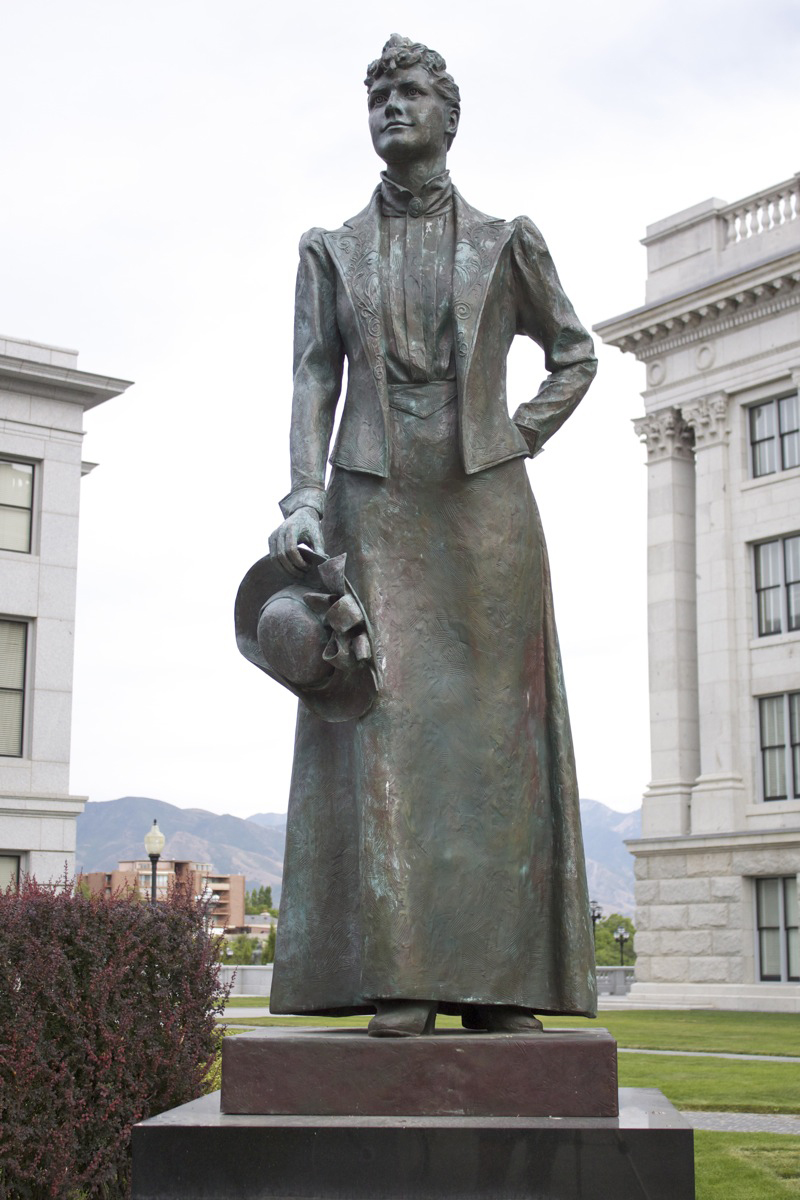 """Martha Hughes Cannon"" by Laura Lee Stay. Photo by Kelly Green, September 2012."