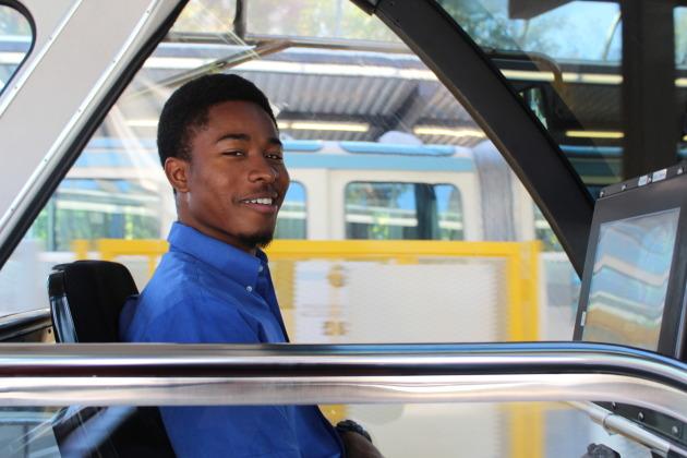 Seattle Center Monorail in Seattle, Washington
