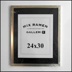 24x30 cm hvid fotoramme
