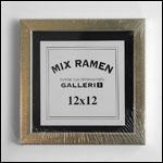 12x12 cm hvid kvadratisk fotoramme