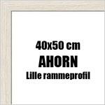 40x50 cm fotoramme i ahorn