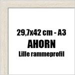 29,7x42 (A3) cm fotoramme i ahorn