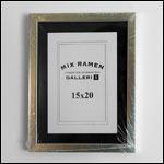 15x20 cm sølv fotoramme