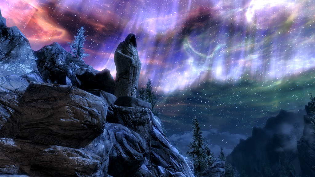 this is an image of The Elder Scrolls - Skyrim
