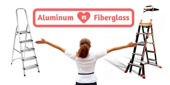 Choose the safest Step Ladder Aluminum vs. Fiberglass