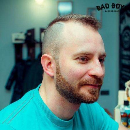 Bald hairstyle