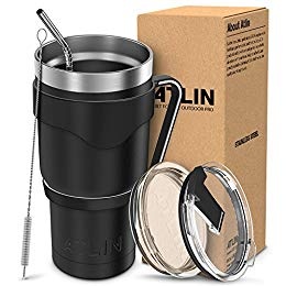 Save Big on Atlin Double Wall Stainless Steel Tumbler Package