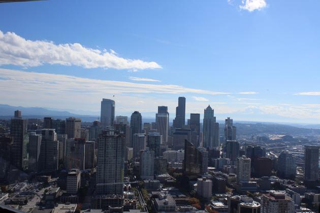 SkyCity Restaurant in Seattle, Washington