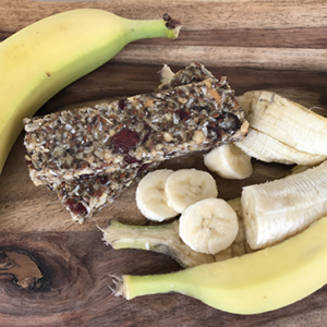 high fiber nutrition bar