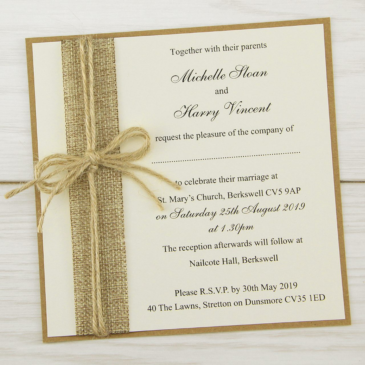 wedding invitation card fonts example template