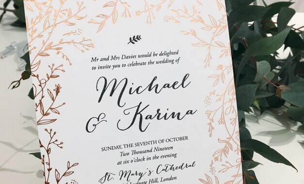 Michael and Karina wedding template
