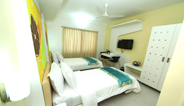Standard Deluxe Twin Bed Room