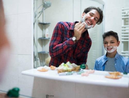 Bộ dao cạo râu làm quà tặng cho nam giới