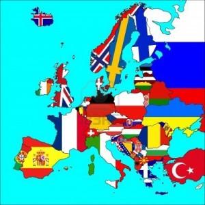 6970403-una-mappa-dell-39-europa-con-tutti-i-confini-e-le-bandiere-dei-paesi-rappresentati