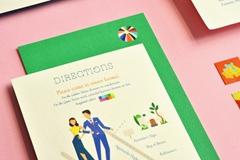 旅游主题的婚礼邀请函设计