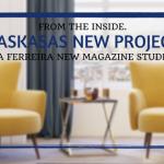 Laskasas gives a bold personality to Cristina Ferreira's Magazine Office