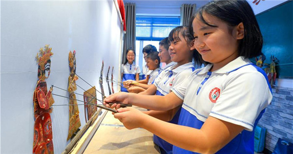 Traditional Chinese arts activities enrich students