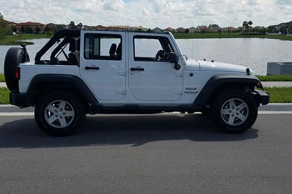 Florida Jeep Rental Military Deal