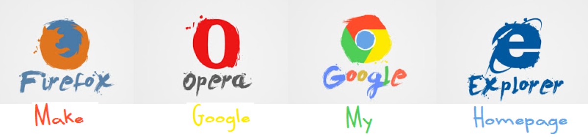 Make Google your homepage – Google