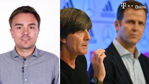 Pressekonferenz zur DFB-Aufstellung (Screenshot: Imago)