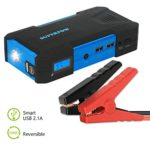 Superpow 800A Peak 18000mah Car Jump Starter Battery Booster Portable Power Bank with Phone Charger