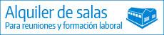 Alquiler de Salas y Aulas para reuniones, eventos y formación en Logroño
