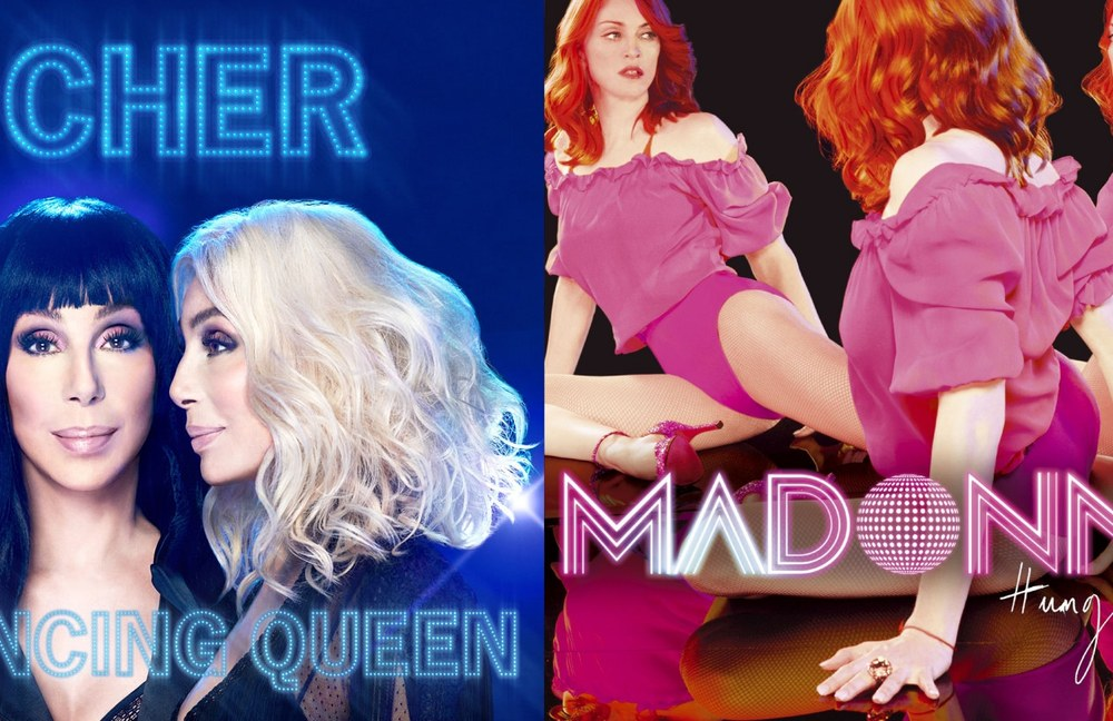 Listen: Cher vs. Madonna / Gimme Gimme Gimme vs. Hung Up