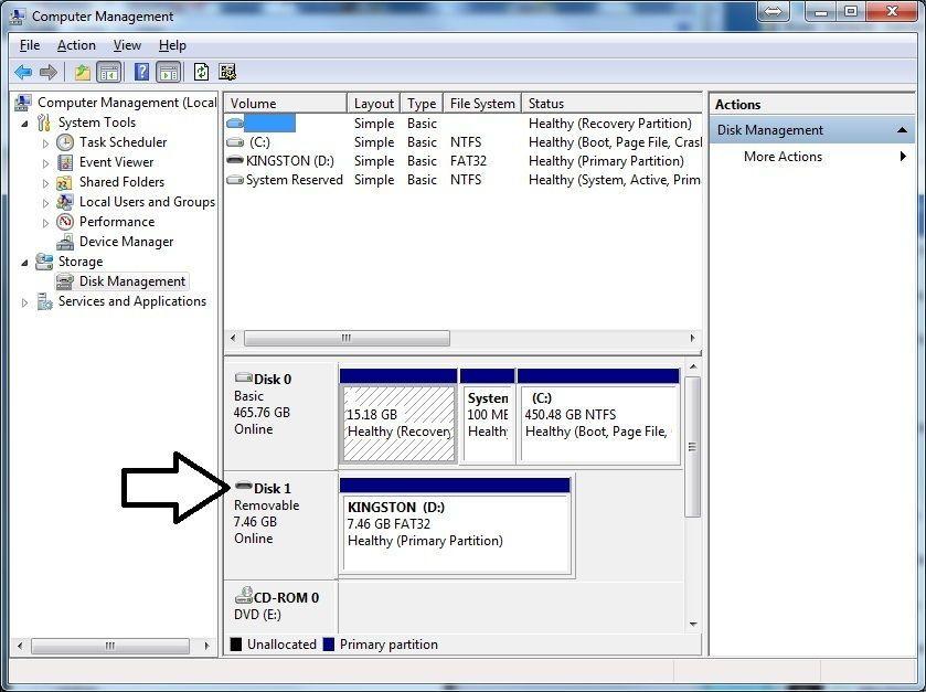 computer disk management, disk management, disk snapin, disk management snapin, computer management snapin