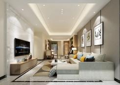 欧式风格客厅效果图