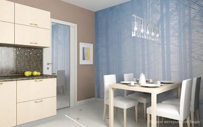 Berikut adalah nyaman dan indah kecil apartemen desain interior oleh Artem Kornilov Rumah Gaya Modern oleh Artem Kornilov