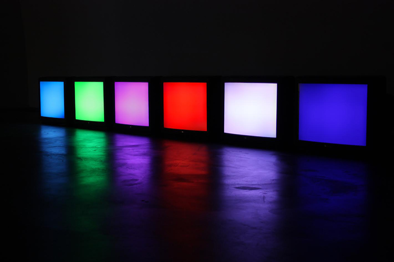 Web-Safe (Video colourscape) by Juha van Ingen, 2008