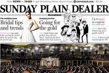 Front Pages / Front pages of The Plain Dealer.
