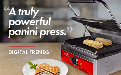 A truly powerful panini press as seen on Digital Trends