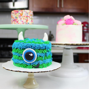 Monster Smash Cake @chelsweets Chelsey White