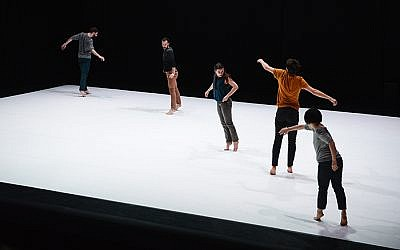 'Ply,' a new work by Yuval Pick, a choreographer who is coming to Dance France 2018 at the Suzanne Dellal Center (Courtesy Centre Chorégraphique National de Rillieux-la-Pape)