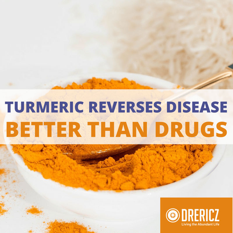 Turmeric Health Benefits Reverse Disease Better Than 10 Drugs