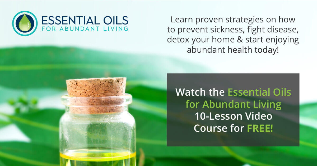 Essential Oils for Abundant Living Masterclass