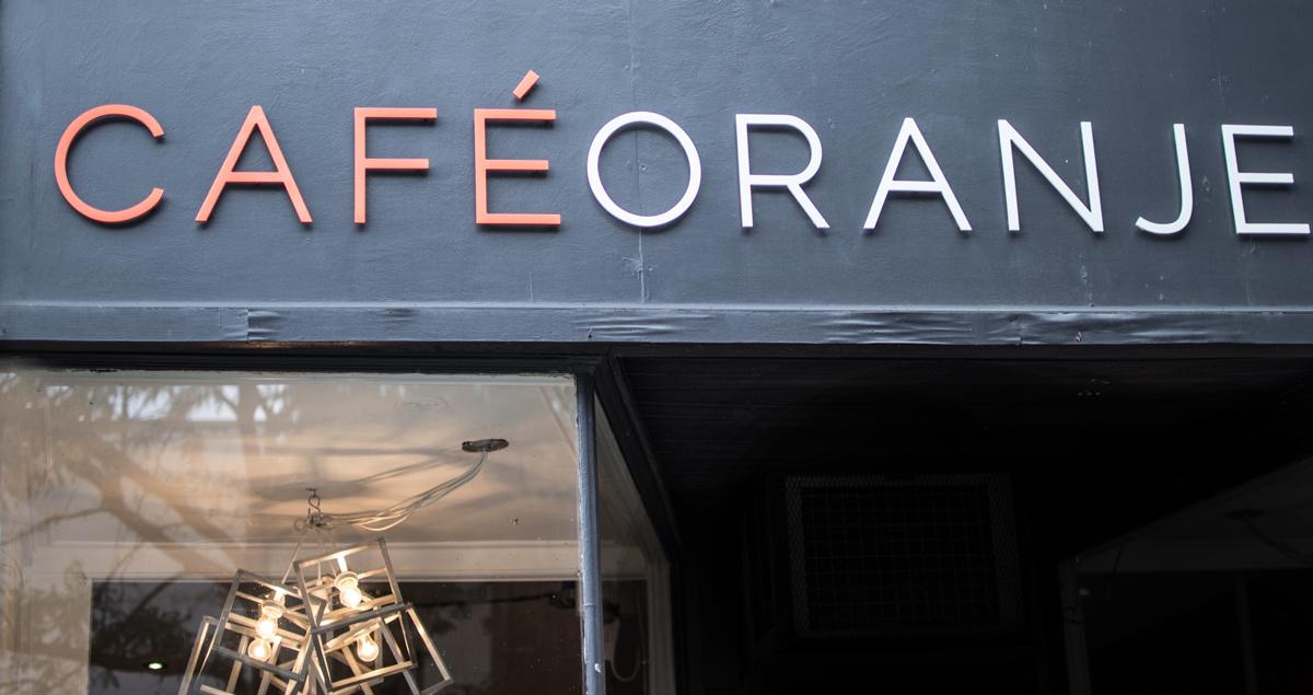 "Storefront, ""Cafe Oranje"""