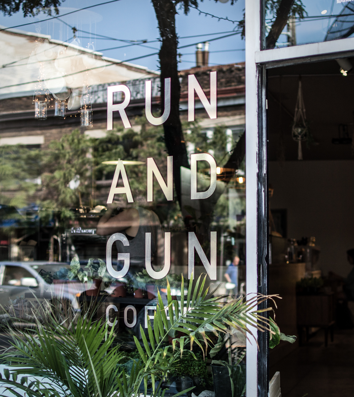 STOREFRONT run and gun coffee Toronto
