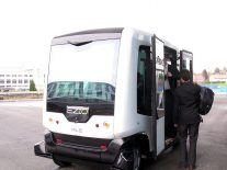 Driverless bus to take to Dublin's streets this weekend