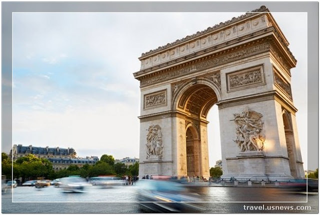 Arc de Triomphe - Top 7 Best Places to Travel in Paris, France at Least Once in Your Life Time