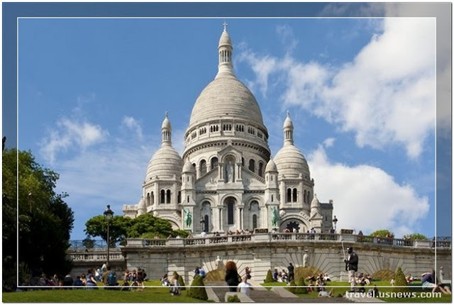 Sacred Heart Basilica of Montmartre - Sacre-Coeur - Top 7 Best Places to Travel in Paris, France at Least Once in Your Life Time