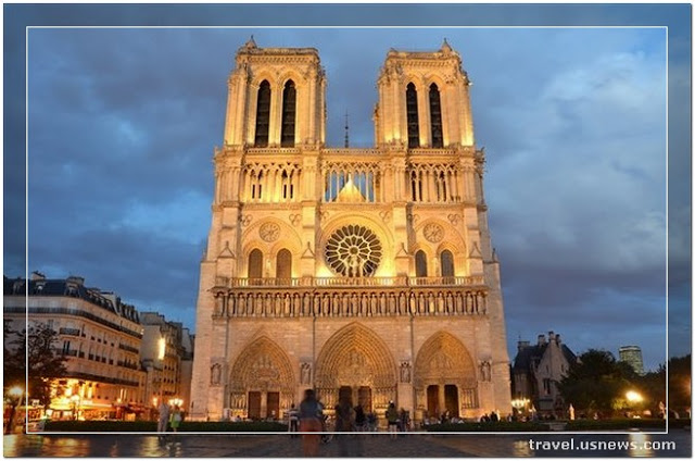 Notre-Dame Cathedral - Cathedrale de Notre Dame de Paris - Top 7 Best Places to Travel in Paris, France at Least Once in Your Life Time