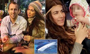 Isabella Hellman (right) went missing off the coast of Cuba in May last year while her husband Lewis Bennett (left), of Poole, Dorset, was rescued in a life raft