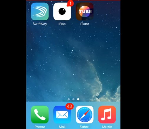 iTube Downloaded successfully to iPhone
