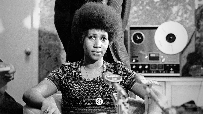 Aretha Franklin : Eine, die ihre Stimme erhob