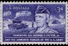 General Patton U.S. commemorative stamp, issued in 1953.  Credit: Wikimedia Commons.