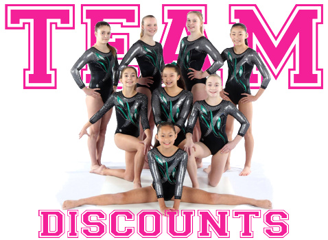 Gymnastics Team Discounts