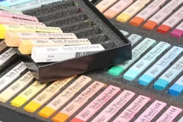 韩国盟友MUNGYO软性粉彩笔进口色粉笔