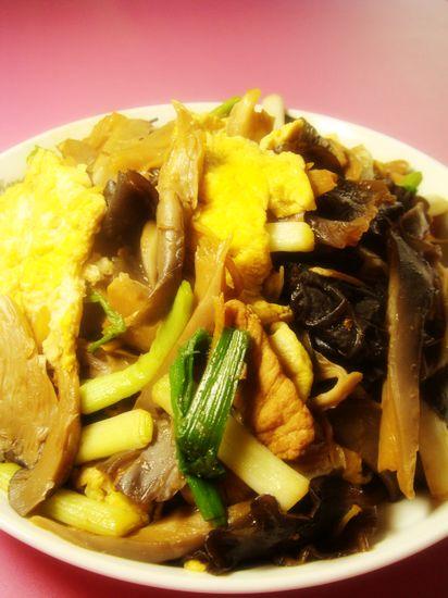 【2011年菜展】——山寨版木须肉的做法